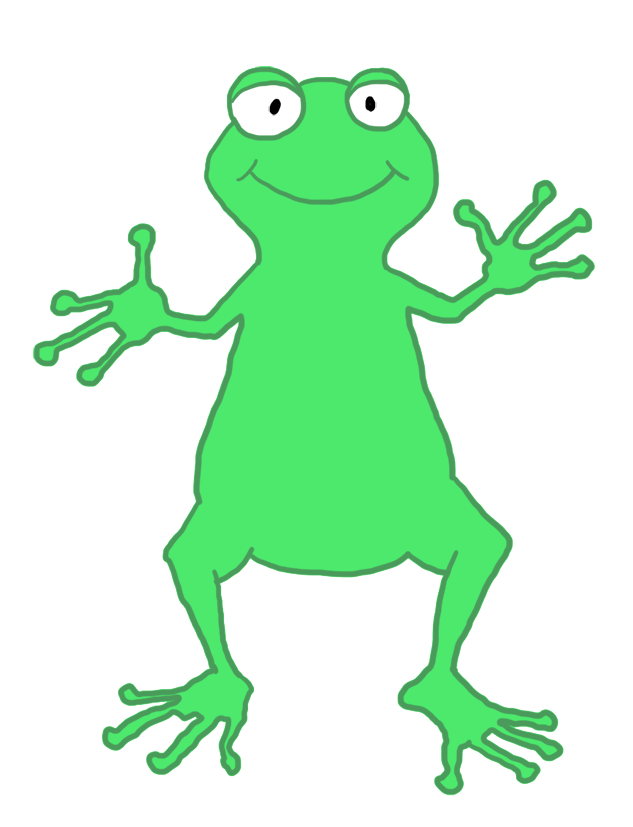 Clip art funny person. Clipart halloween frog