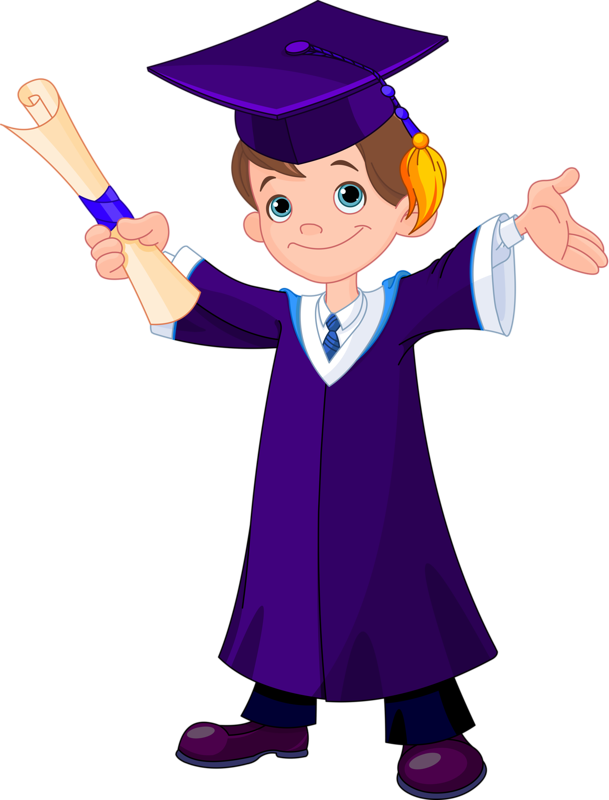Preschool clipart graduation.  boy png pinterest