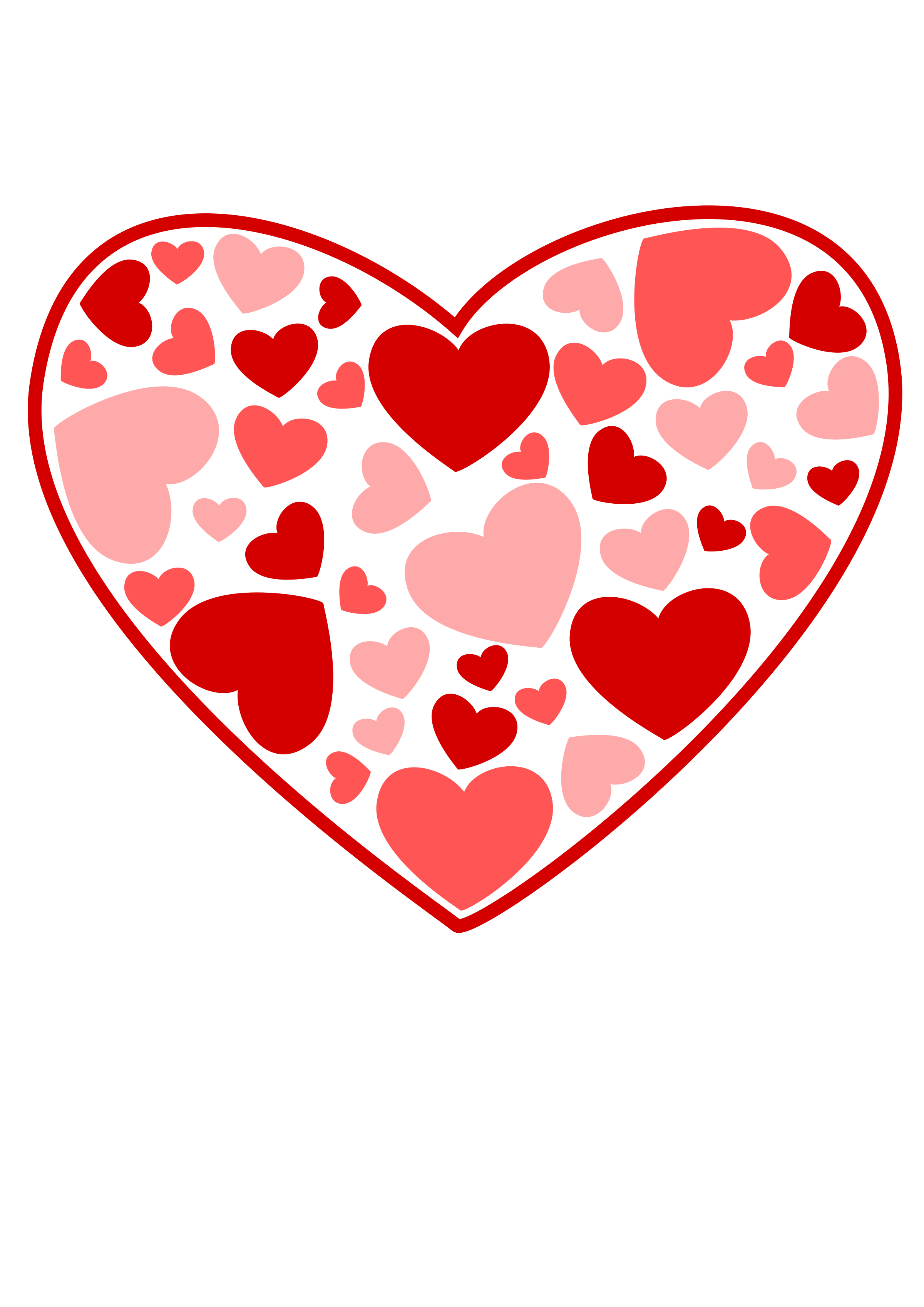 Clipart hearts book. Heart of big image