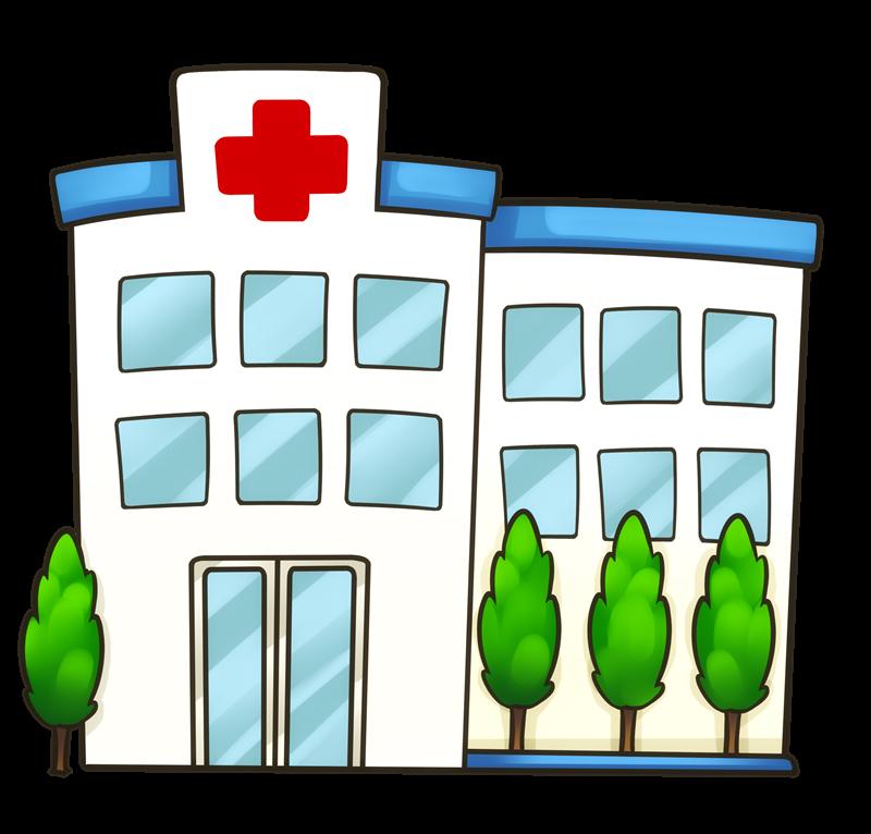 M dico doentes e. Clipart hospital police station