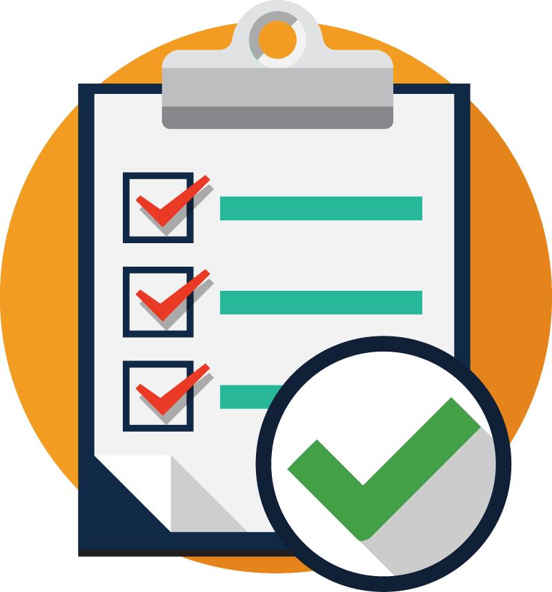 Checklist clipart inspection checklist. Order fulfillment software process