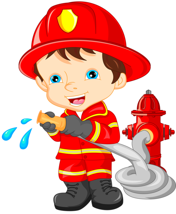 Fireman clipart fireman costume. Personnages illustration individu personne