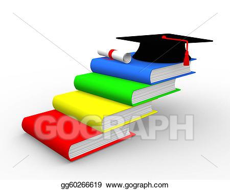 Stock illustration gg gograph. Ladder clipart book