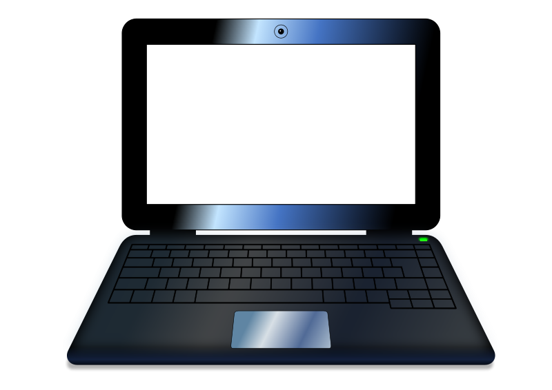 Study clipart laptop. Notebook free clip art