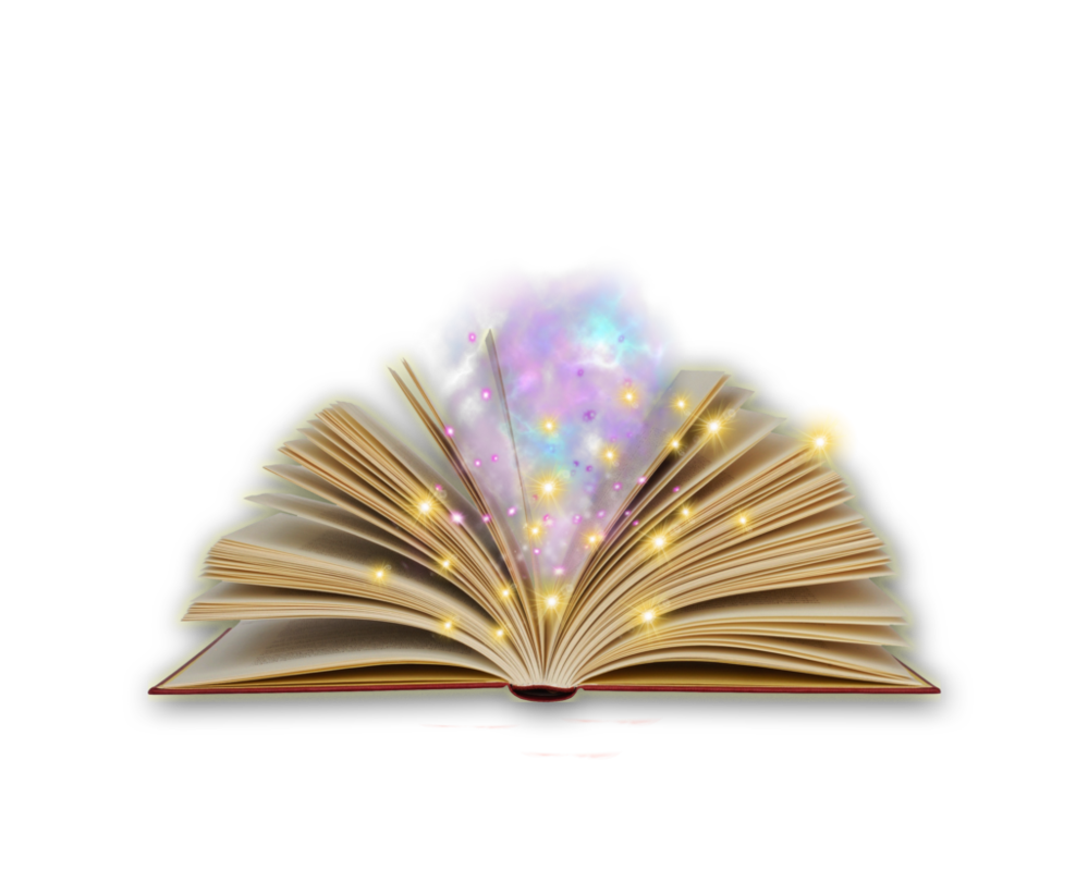 Magic clipart miracle.  collection of book
