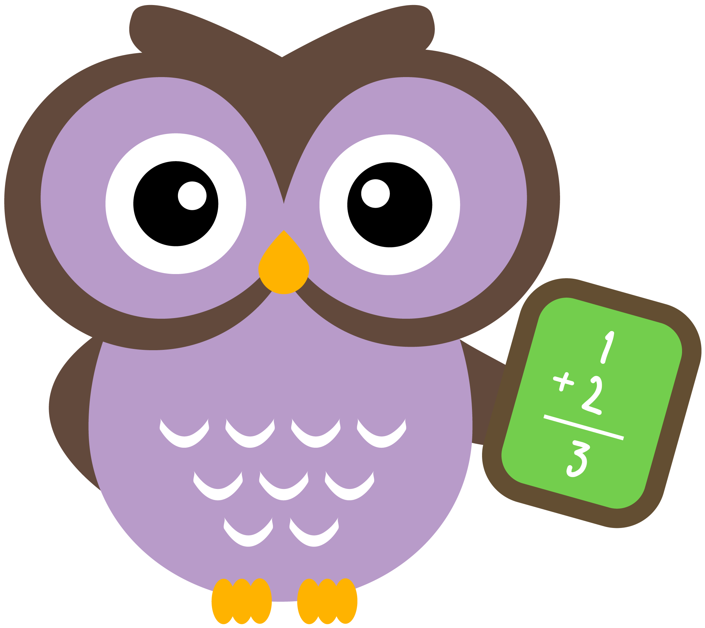 Owl . People clipart math