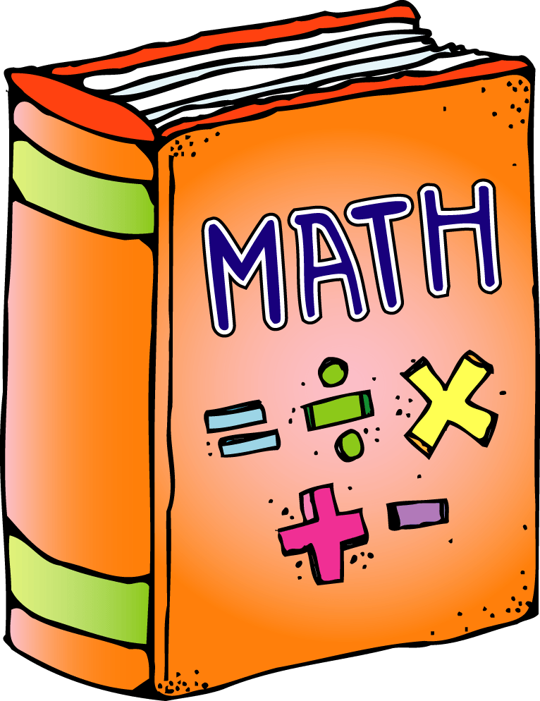 Free books cliparts download. Textbook clipart math textbook