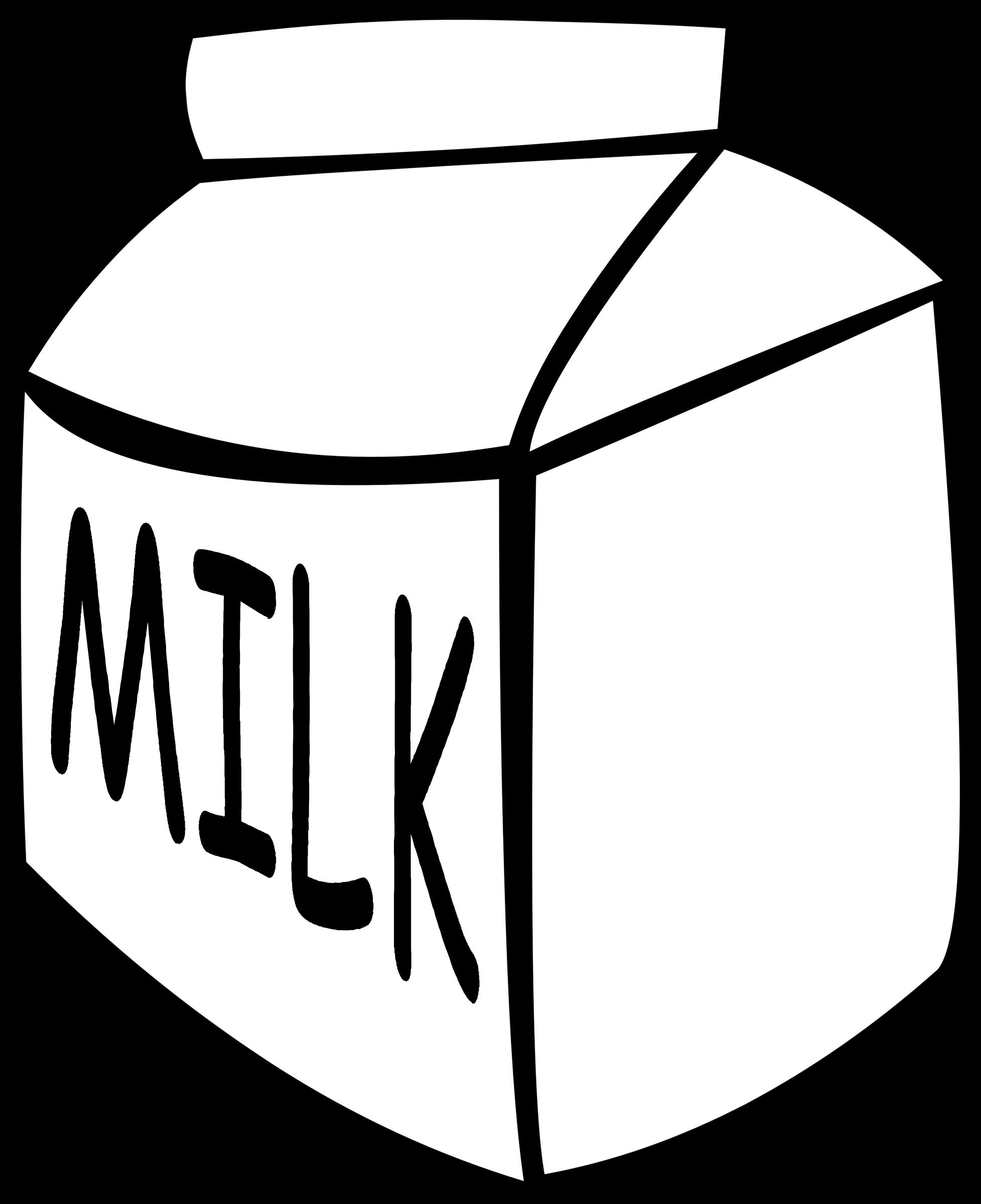 Fast food drinks milk. Cocktails clipart outline