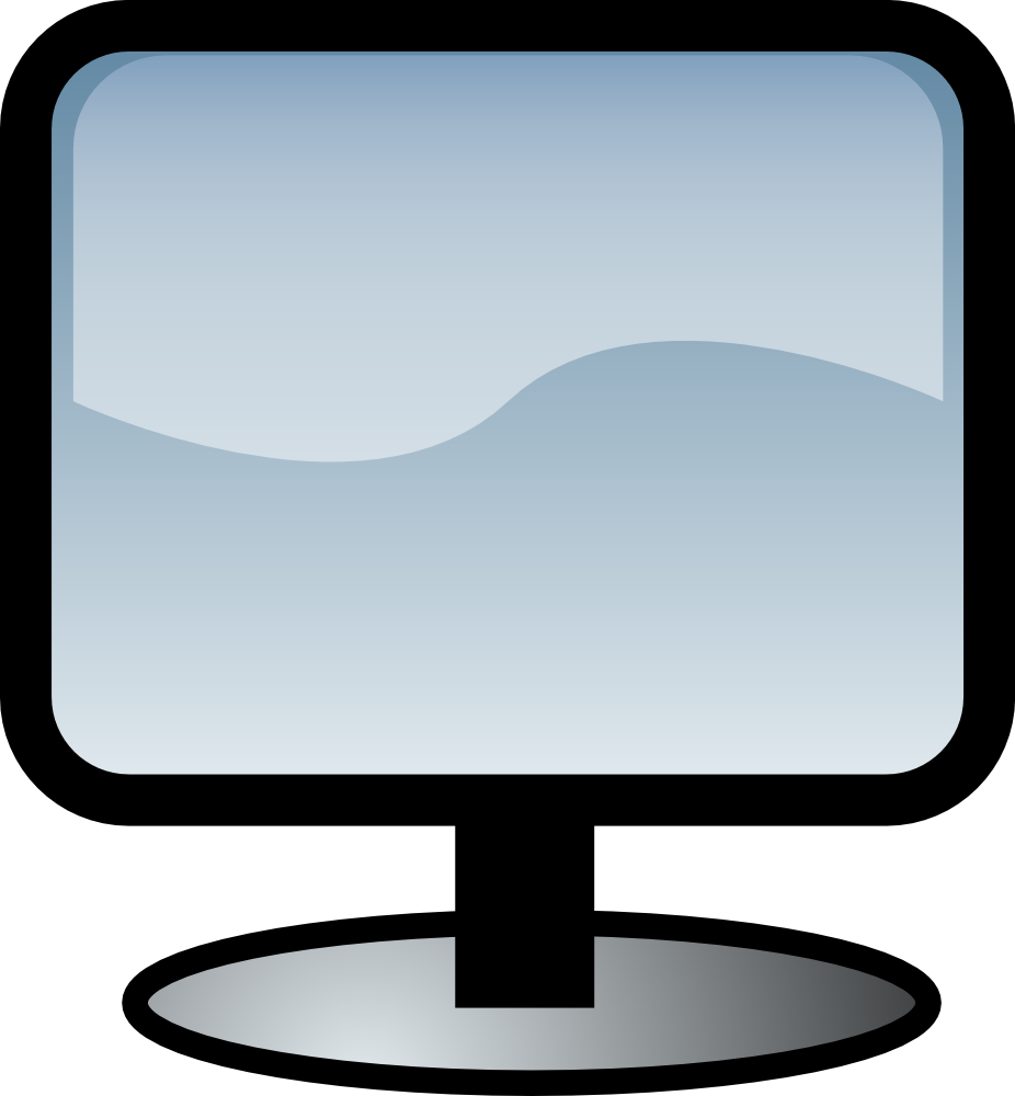 Computers clipart email. Computer monitor clip art