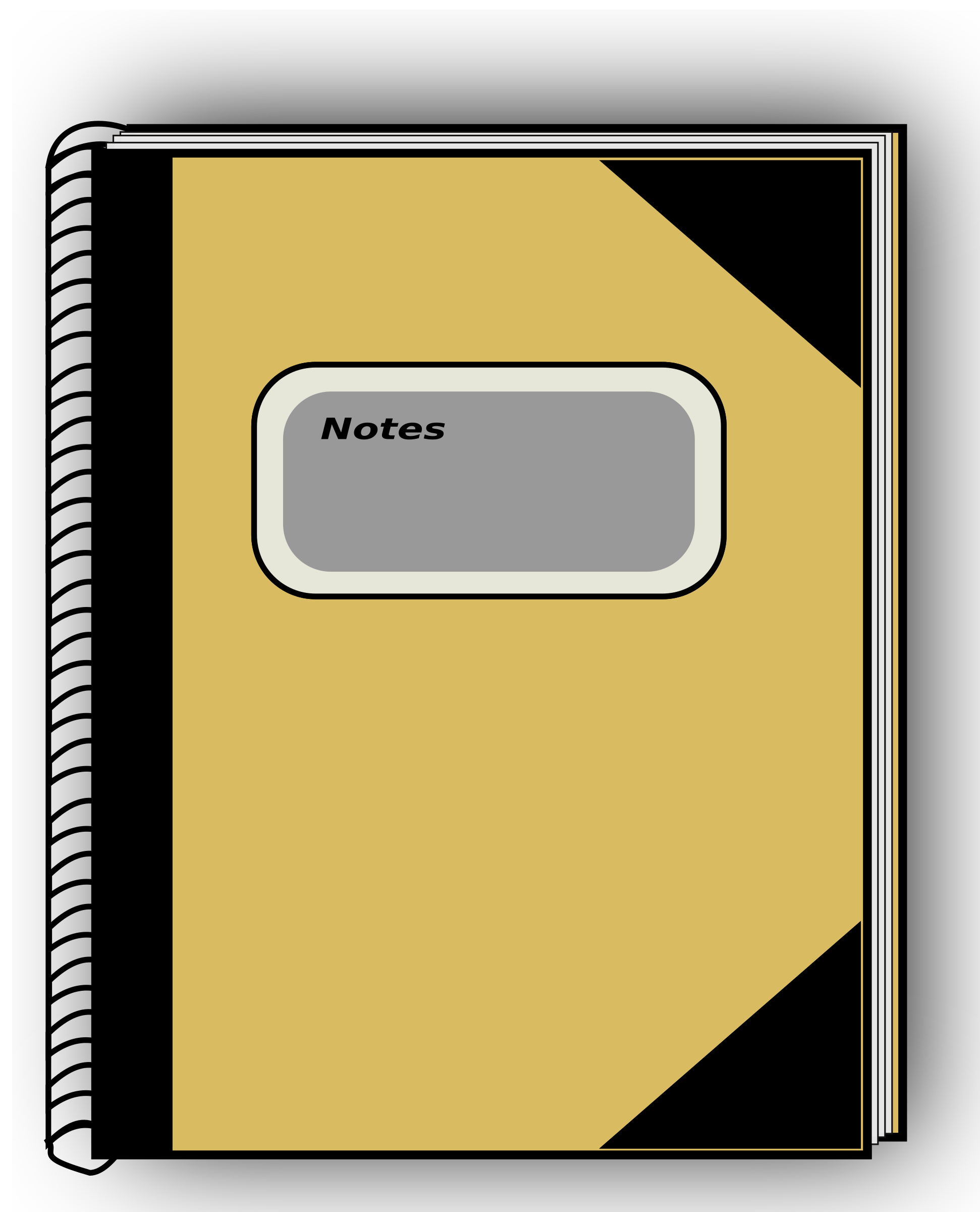 Clipart books notebook. Big image png