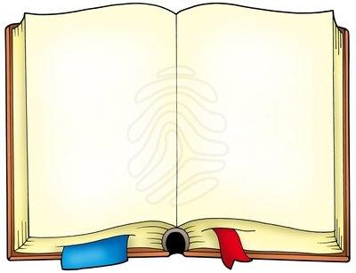 Open clip art image. Textbook clipart hindi book