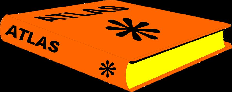 Clipart book orange. Free stock photo illustration