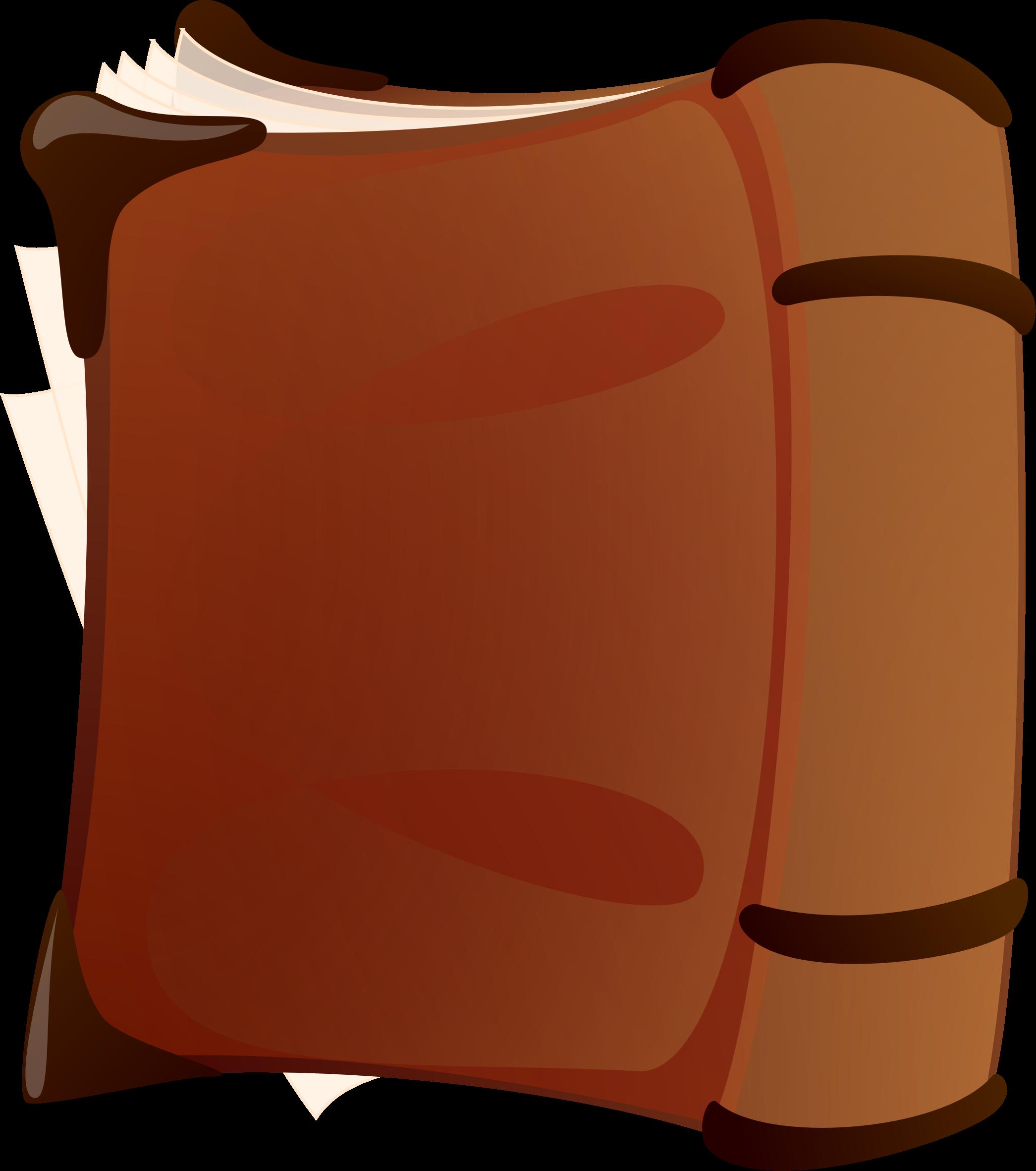 Clipart book orange. Old big image png
