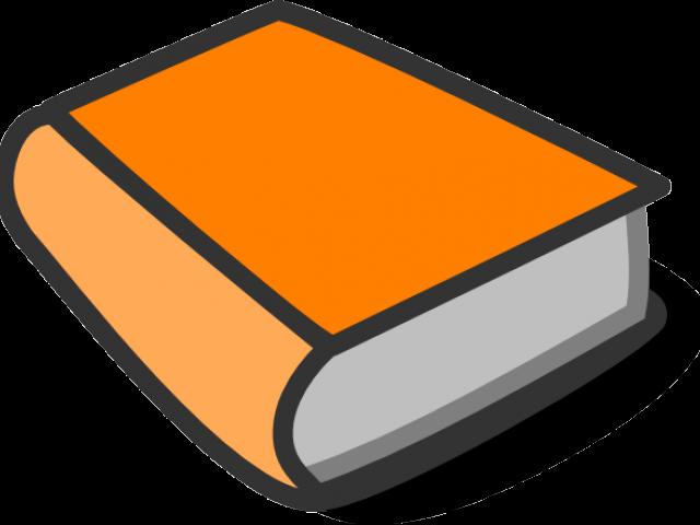 Clipart book orange. Cat free download clip