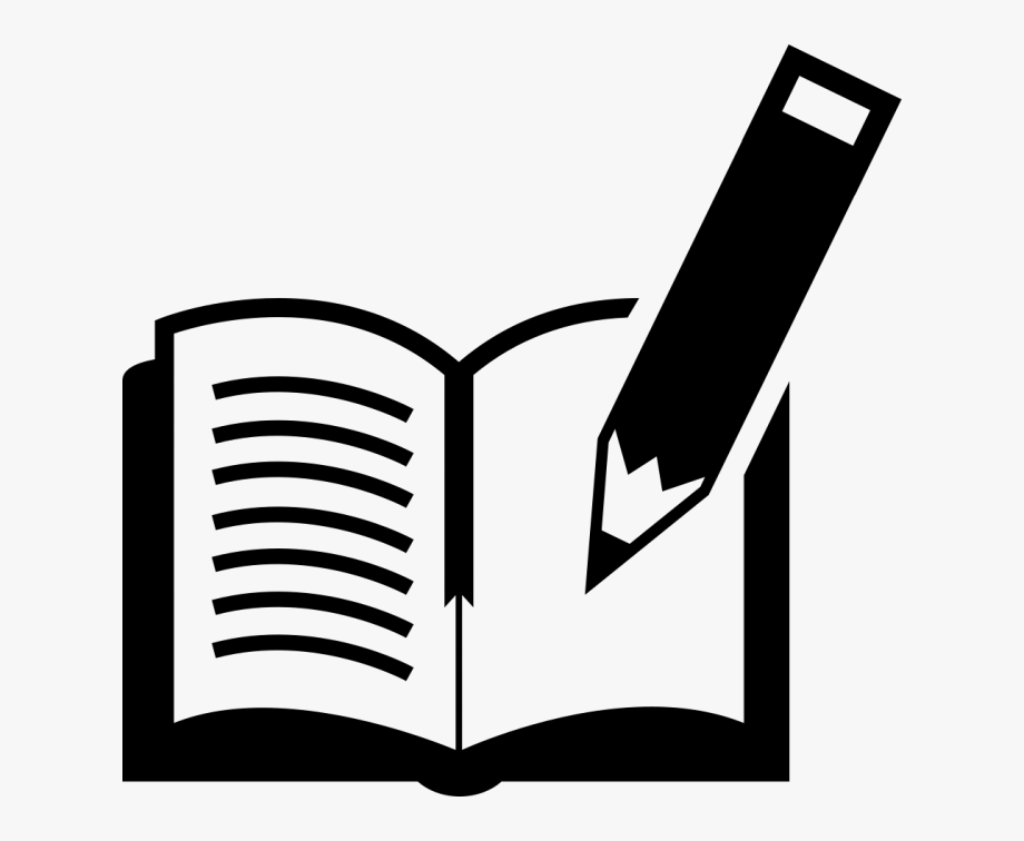 Book and png free. Clipart books pen