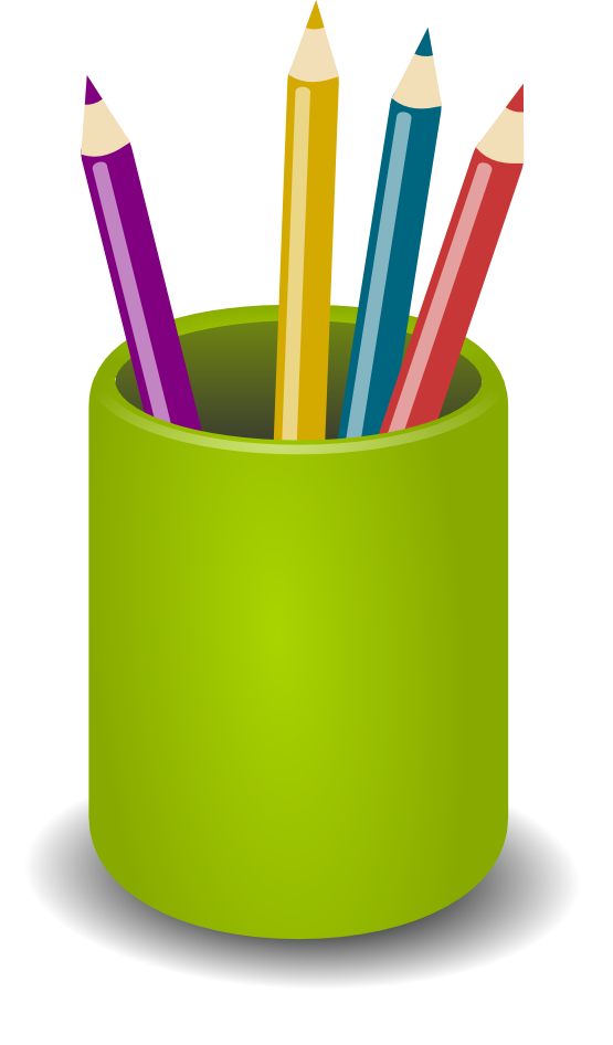 Clipart pencil container.  collection of pen