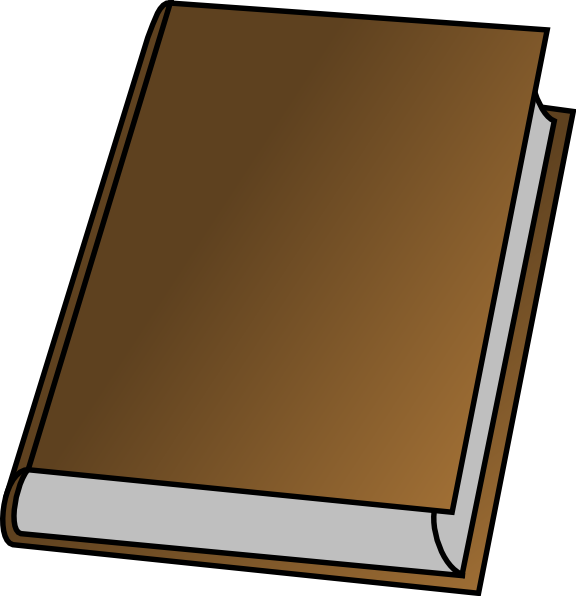 Book Without Cover Clip Art at Clker