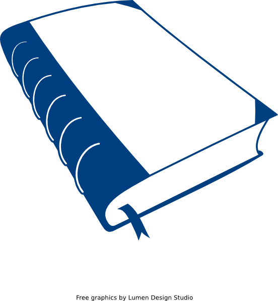 Wing clipart old. Blue book clip art