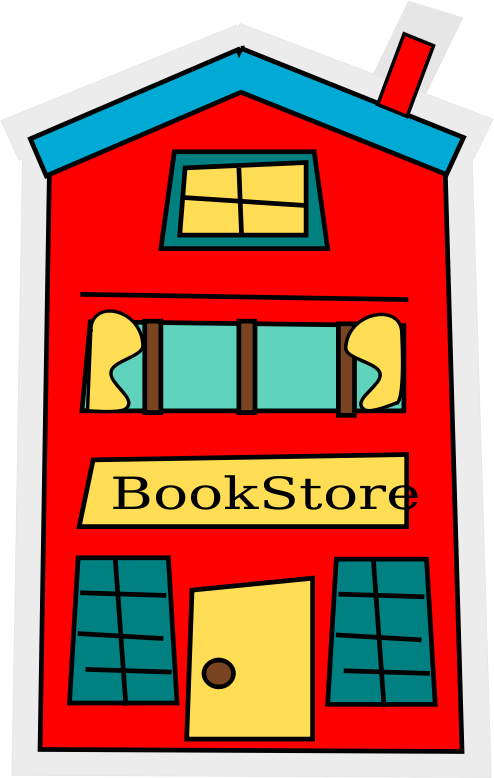 Clipart door rectangle book. The most independent bookstore