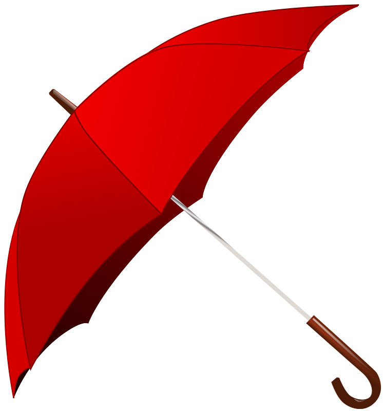 Showering clipart many umbrella. Red weather storms science