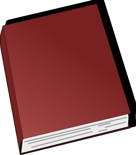 Textbook clipart literature. Generic book clip art