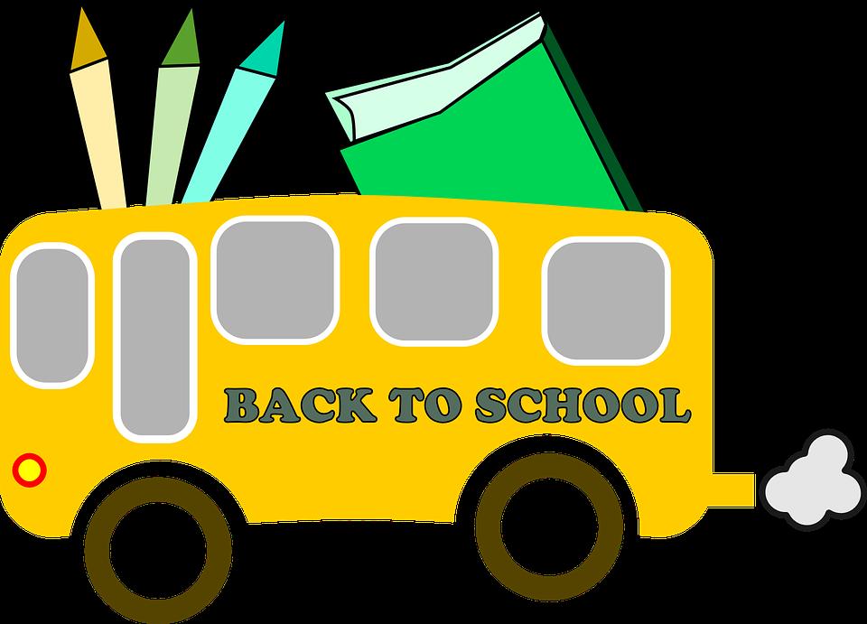 Library clipart kindergarten.  school supply list