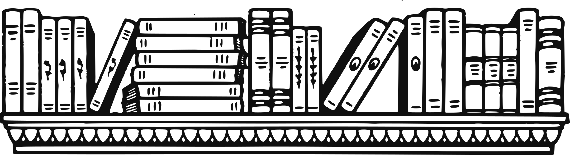 Library clipart black and white.  collection of book