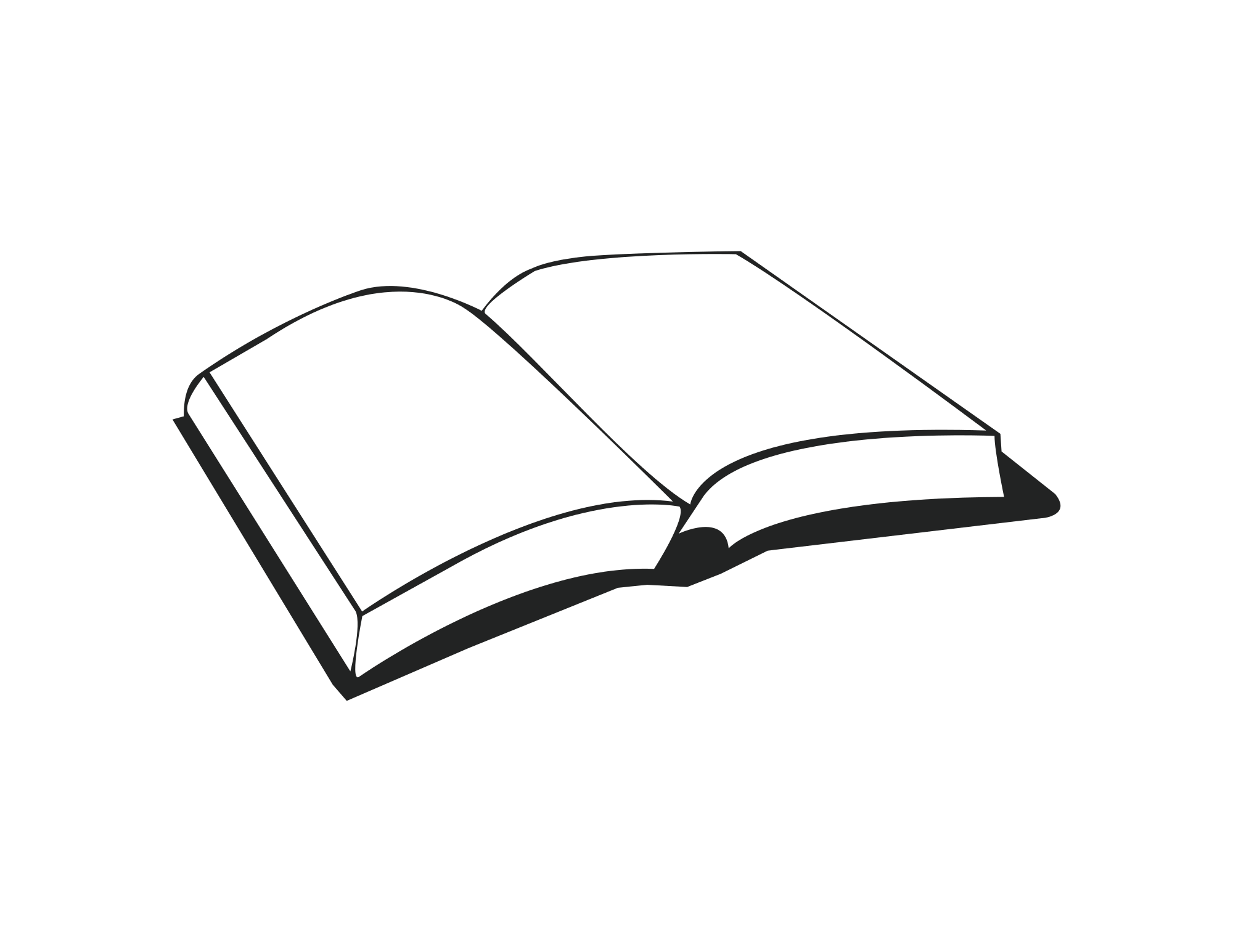 Clipart book simple.  collection of drawing