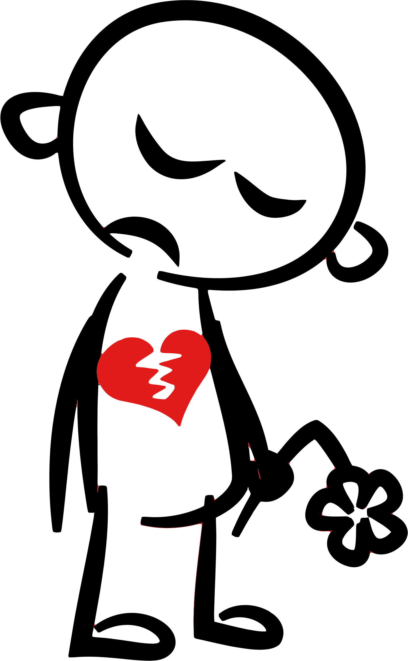 Broken heart images illustrations. Einstein clipart abstract