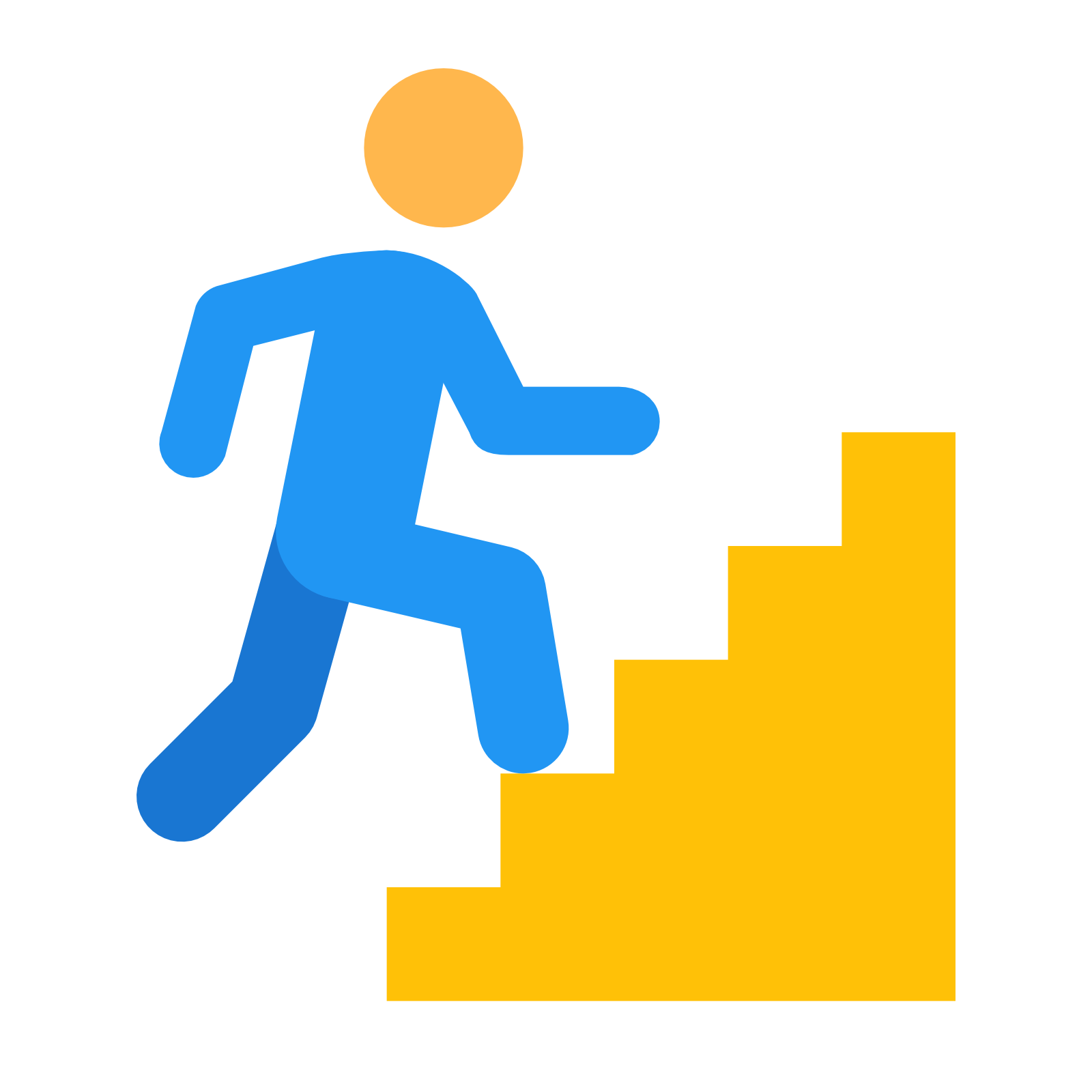 best stairs icon. Staircase clipart round stair