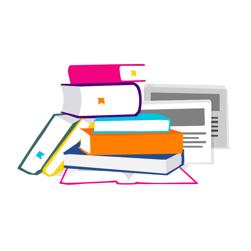File books on table. Health clipart health subject