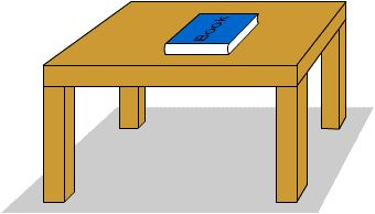 Clipart book table. On the station
