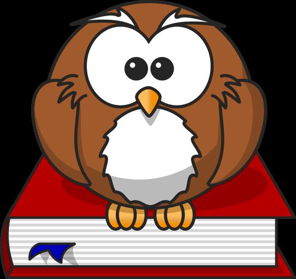 New teacher clip art. Owl clipart professor