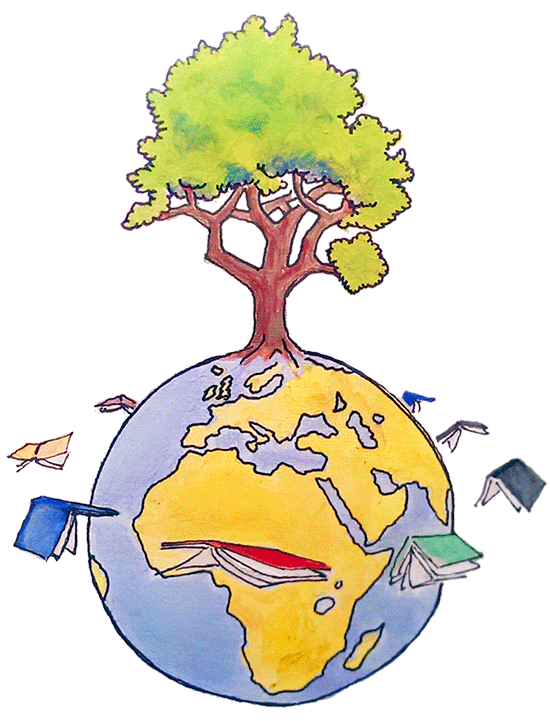 Cycle from to and. Clipart book tree