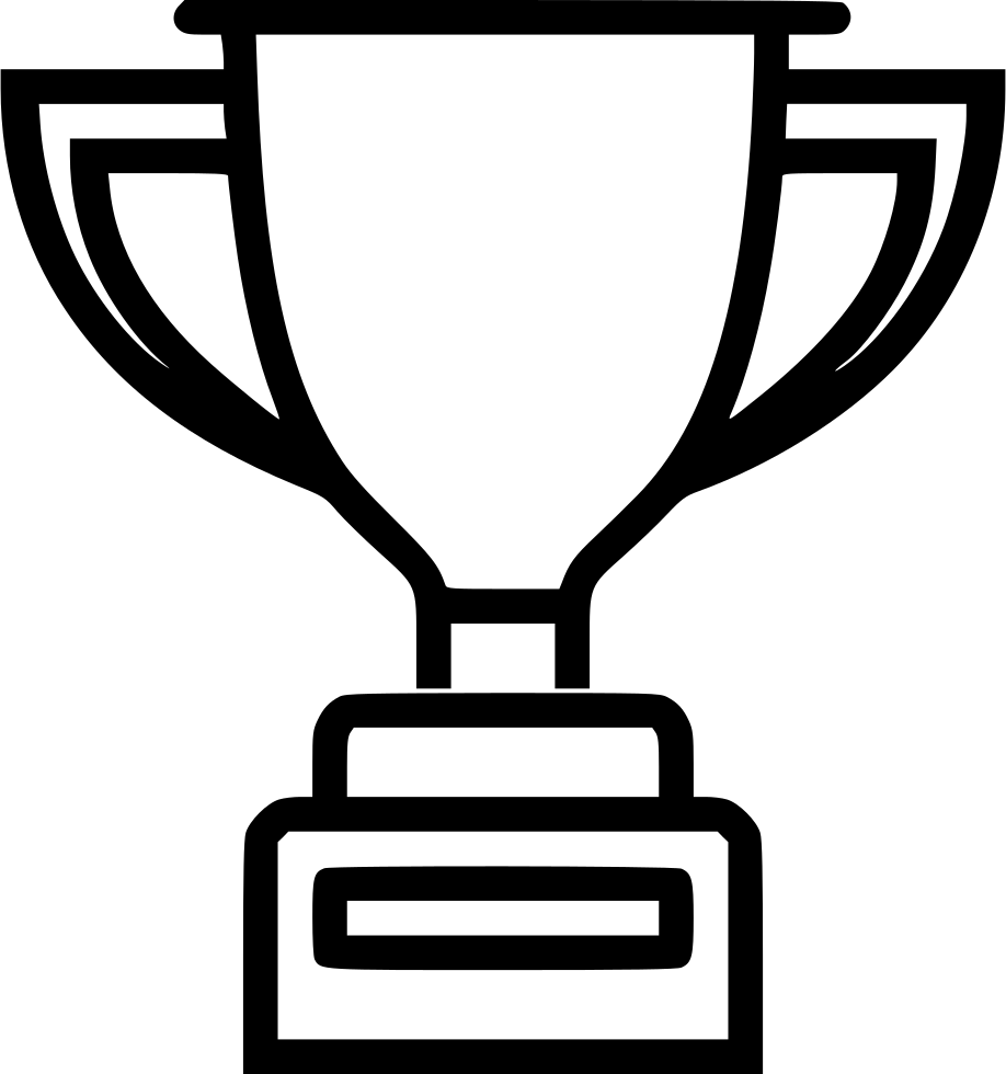 Win clipart industrial. Trophy medal badge prize