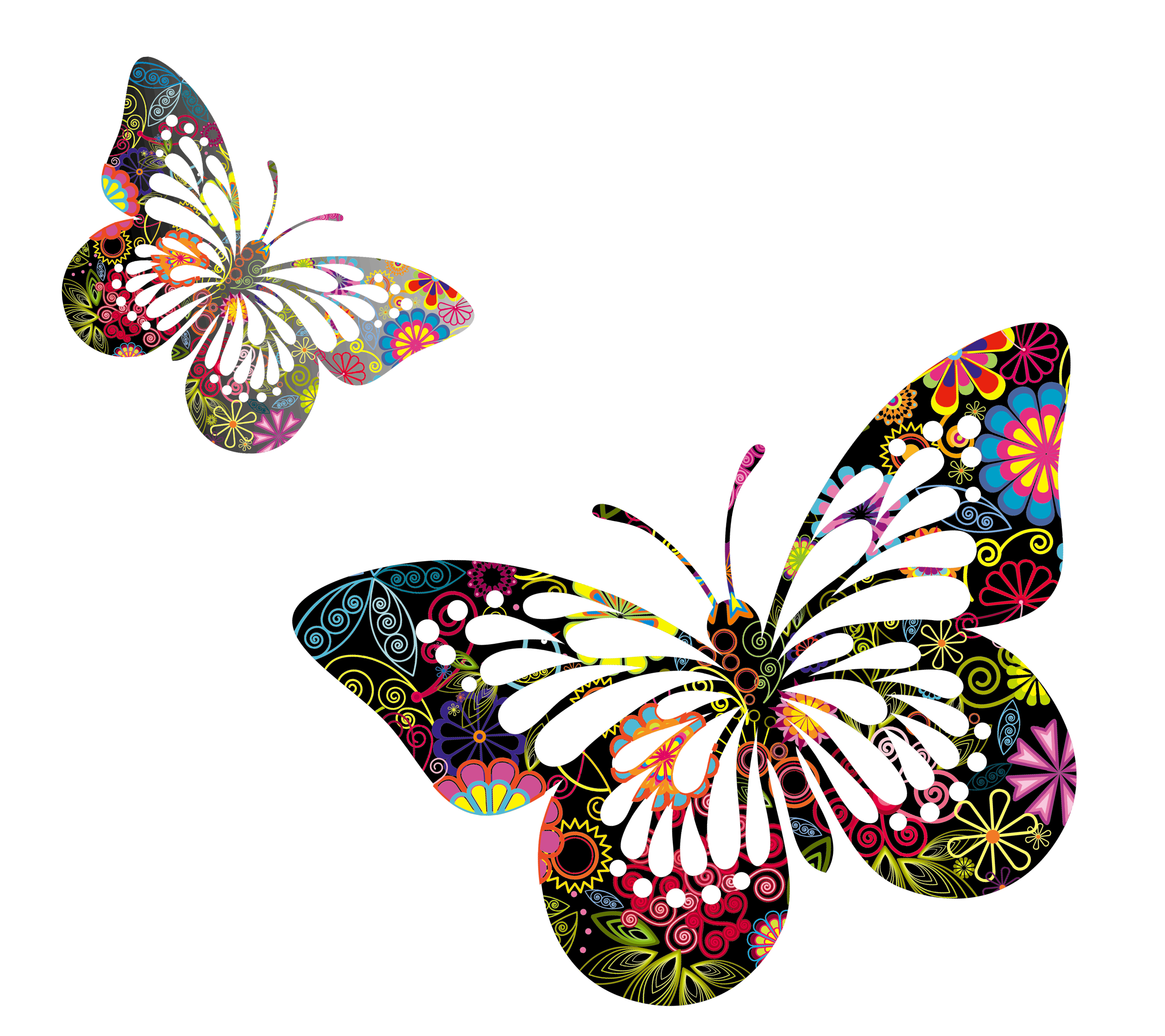 Transparent butterflies png pinterest. Dragonfly clipart psychedelic