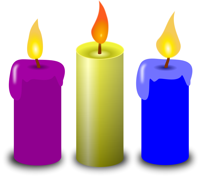 Clock clipart candle. Free to use public
