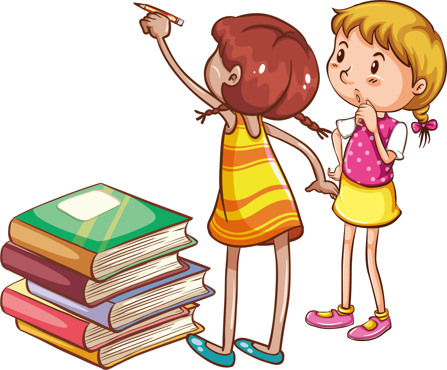 Child book clip art. Clipart reading african american