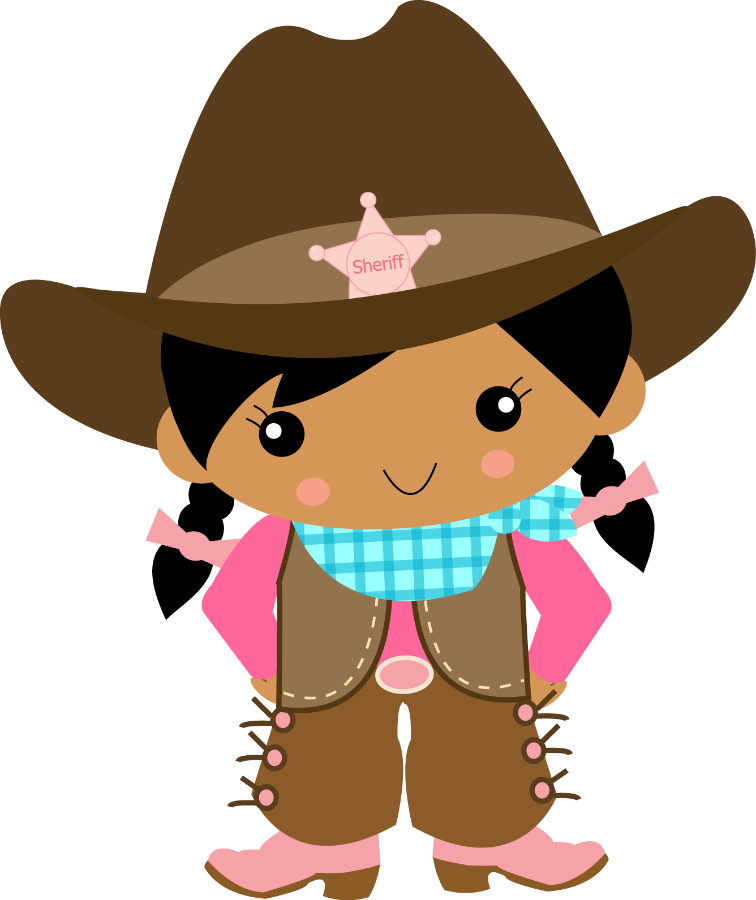 Cowgirl clipart cute. Cowboy e minus western