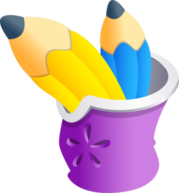 Crayons de couleurs pinterest. Craft clipart crayon