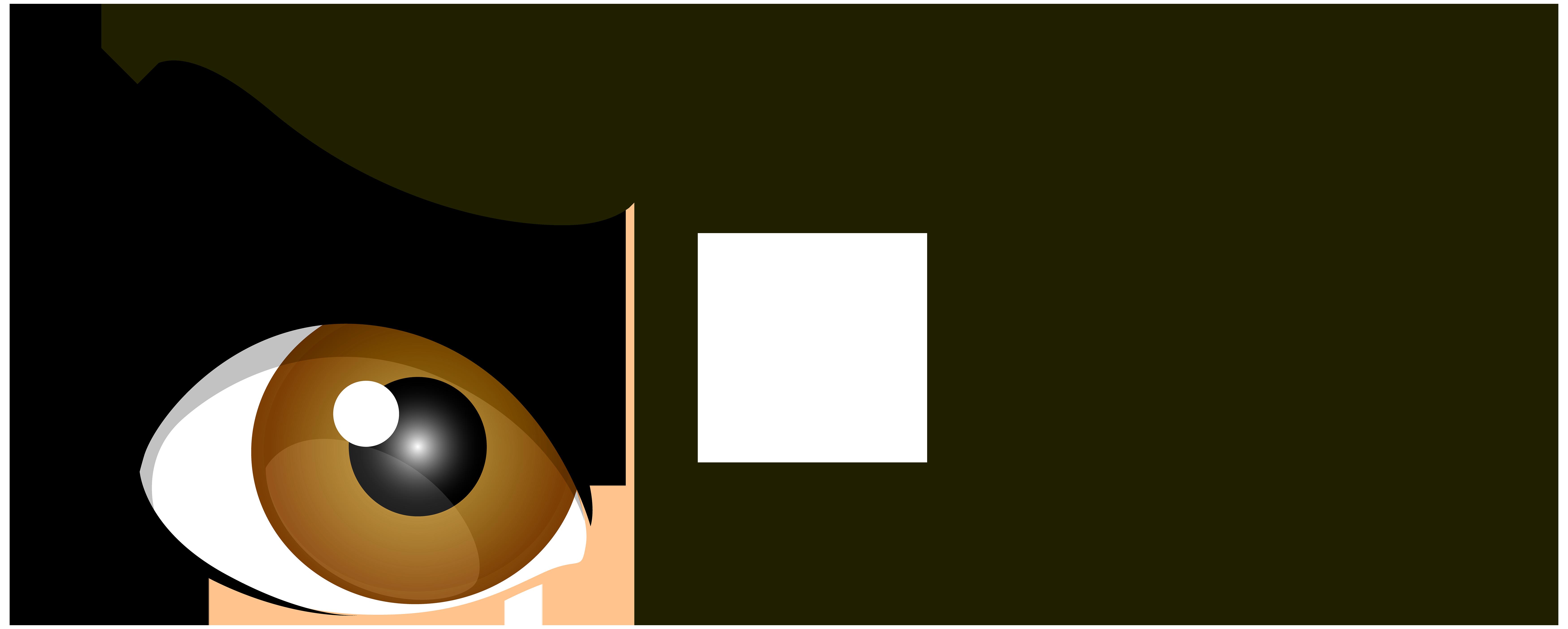 Brown winking eyes png. Eyeballs clipart female eye