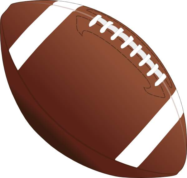 Clipart football clip art. With transparent background clipartix