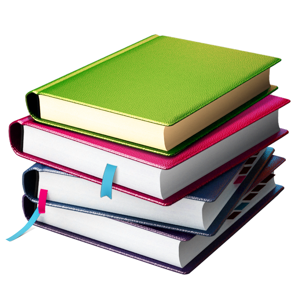 Books png psd vectors. Folder clipart stacked