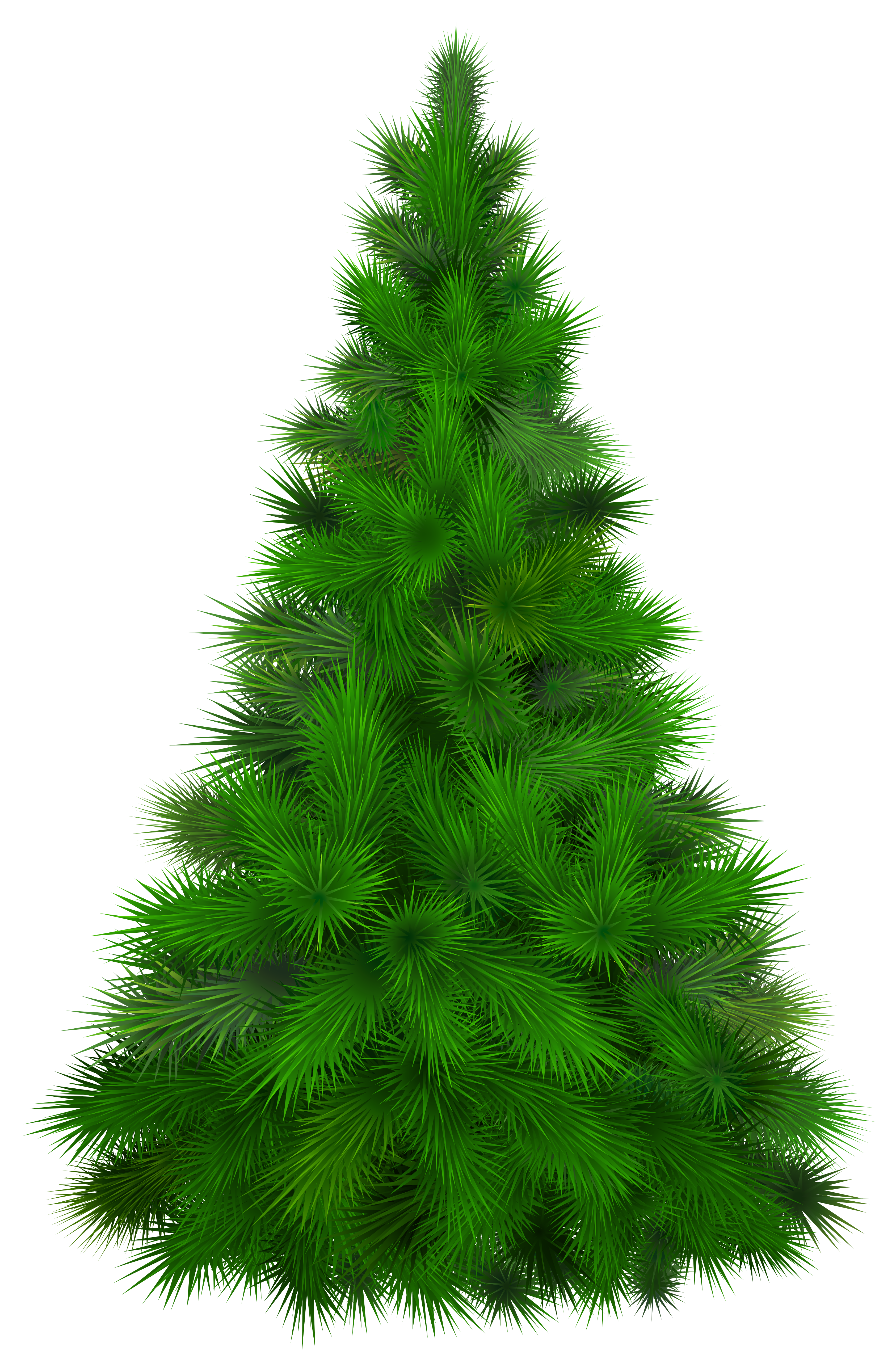 Clipart trees pine. Green tree png clip