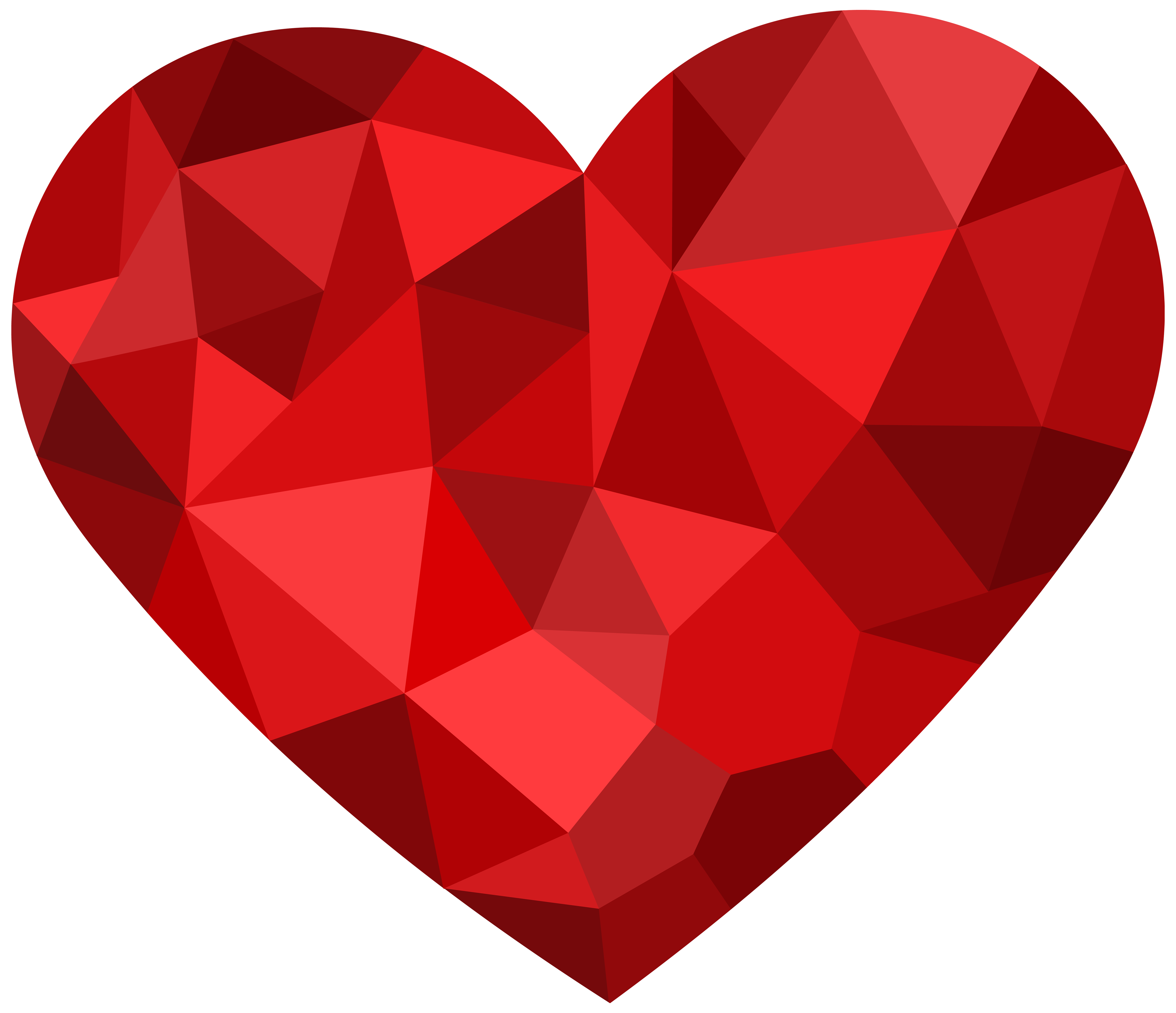 Clouds clipart red. Mosaic heart png best