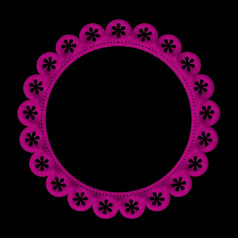 Lacarolita just beautiful frame. Scrapbook clipart circle