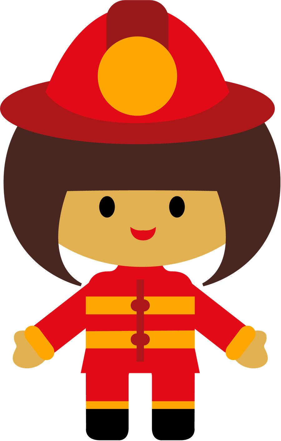 firefighter clipart attached