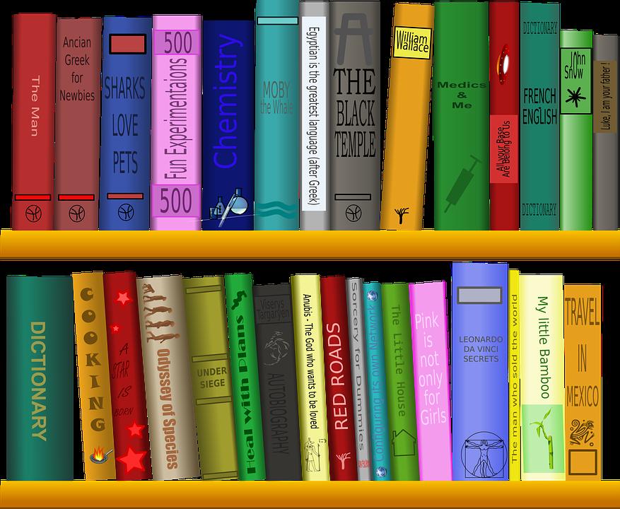 Fun math books for. Organized clipart organized book