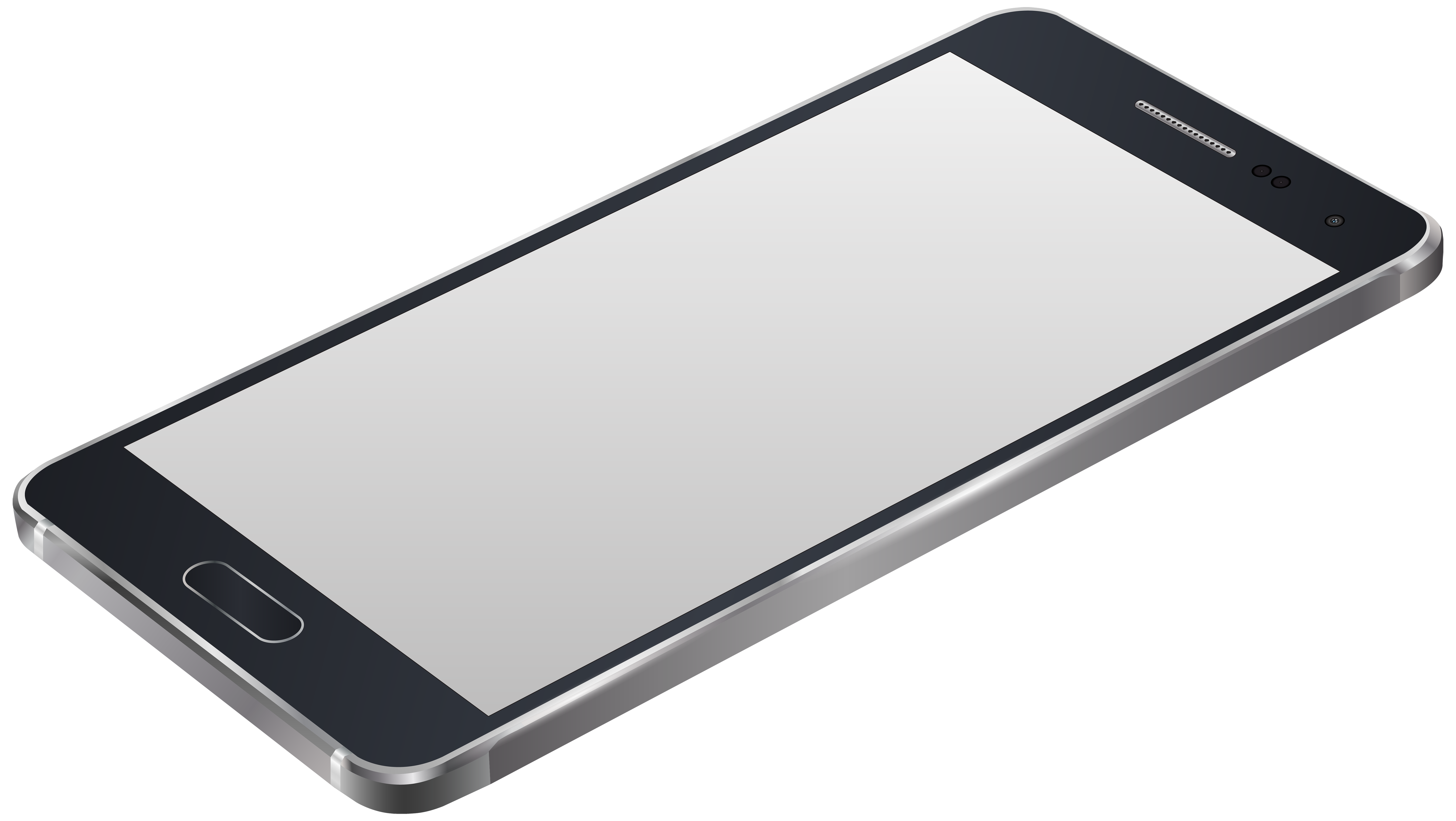 Grey png clip art. White clipart smartphone