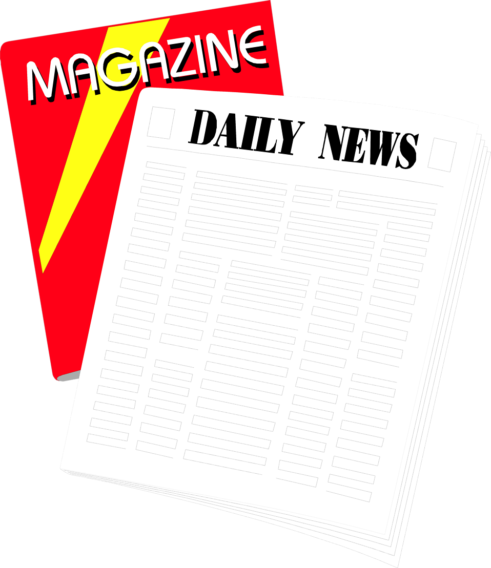 Periodicals free stock photo. News clipart clip art